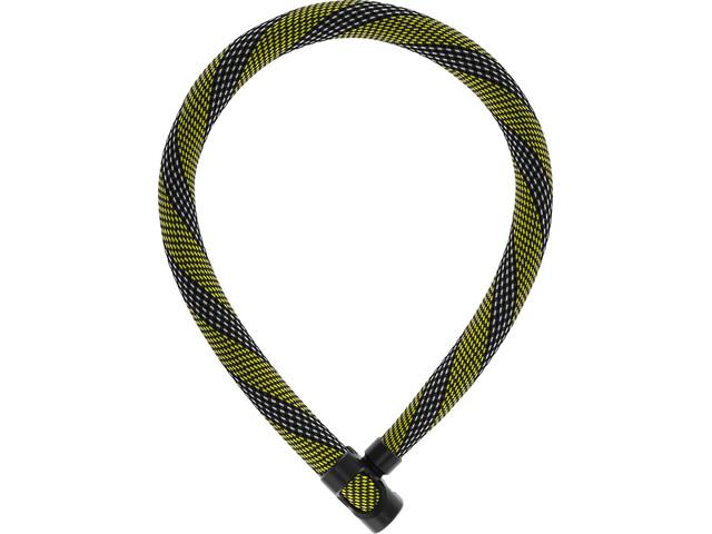 ABUS IvyTex 7210 Antifurto Con Lucchetto, racing yellow